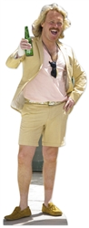 life size keith lemon with beer cardboard cutout