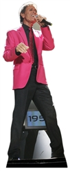 life size 50th anniversary cliff richard cardboard cutout