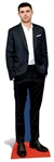 life size zac efron in suit cardboard cutout