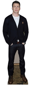 Lifesize Carboard Standee Chris Evans