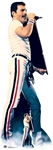 Star Cutouts Lifesize Carboard Standee Freddie Mercury On Stage Icon 1982