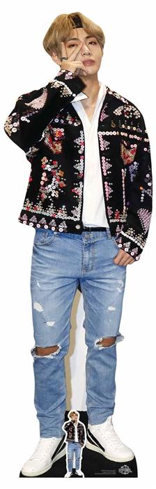 Star Cutouts Cardboard Cut Out Kim Taehyung V Bts
