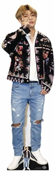 Lifesize Cut Out of Kim Taehyung (V) BTS BANGTAN BOYS Lifesize Cardboard Cutout