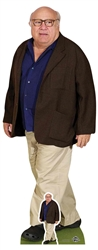 Star Cutouts Danny DeVito Blue Shirt Cream Trousers Lifesize Cardboard Cutout