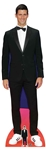 Star Cutouts Novak Djokovic Tennis Player Smart Black Suit