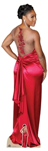 Star Cutouts Lifesize Cardboardcutout of Serena Williams Red Dress