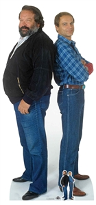 Star Cutouts Bud Spencer and Terence Hill Lifesize Cardboard Cutout