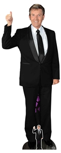 CS801 Daniel O'Donnell Lifesize Cardboard Cutout With Free Table Top Cutout Great Gift for Fans Height 179cm Width 72cm