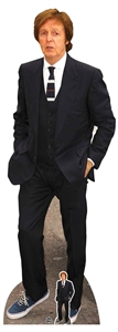 CS802 Paul McCartney Lifesize Cardboard Cutout With Free Table Top Cutout Great Gift for Fans Height 182cm Width 65cm
