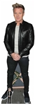 CS844 Gordon Ramsay Black Jacket Lifesize Cardboard Cutout with Free Mini Standee