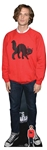 CS857 Matthew Gray Gubler Red Jumper Lifesize Cardboard Cutout with Free Mini Standee