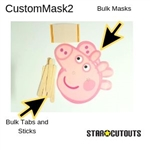 Star Cutouts Custom Mask2