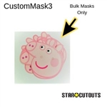 Star Cutouts Custom Mask3