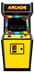 80's Colour Golden Age Video Arcade Game