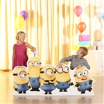 Minions Group Pose Mischevious