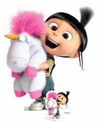 Agnes and  Fluffy Unicorn