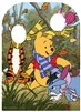 Star Cutouts Ltd SC1063 Winnie the Pooh Hundred Acre Wood With Friends Cardboard Stand-in Perfect for Retro Movie Fans, Parties and Event Decoration Height 131cm