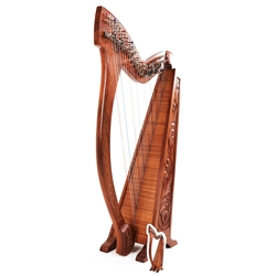 Star Cutouts Harp Musical Theme Cardboard Cutout