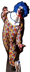 SC1071 SCARY HALLOWEEN MALE Clown Height 175cm Fantastic for Horror Fans
