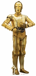 Lifesize cutout C-3PO (The Last Jedi) Star Wars
