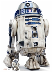 Lifesize Cutouts R2-D2 (The Last Jedi) Star Wars
