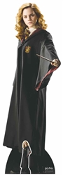 Lifesize Cardboard Cutout Hermione Granger (Hogwarts School of Witchcraft and Wizardry Uniform) (Harry Potter)