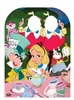 Alice in Wonderland Tea Party Stand-in Child Sized