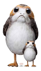 Star Cutouts Porg Star Wars Official Branded Merchandise