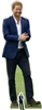 Prince Harry ( Royal Blue Suit and Beard) Lifesize Cardboard Cut Out