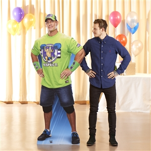 "John Cena Hands on Hips World Wrestling Entertainment WWE"" World Wrestling Entertainment WWE Lifesize Cardboard cutout"