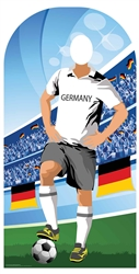 Star Cutouts Germany (World Cup Football Party Stand-IN)