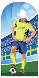 Star Cutouts Sweden (World Cup Football Stand-IN)