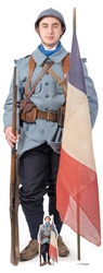 Star Cutouts French WW1 Soldier World War One
