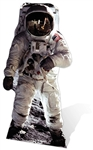 Star Cutouts Ltd SC119 Buzz Aldrin Astronaut Cardboard Cutouts Perfect for Space Fans, Parties and Moon Landing Celebrations Height 182cm
