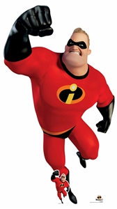 Star Cutouts Mr Incredible The Incredibles Giant Cardboard Cutout