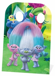 Star Cutouts Trolls Stand-In (Can't Stop the Feeling Right)
