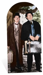 Stan Laurel and Oliver Hardy Adult Size Stand-in Classic Film Cardboard Cutout