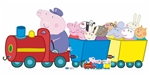 Star Cutouts Grandpa Pigs Train (Peppa Pig) Lifesized Cardboard Cutout
