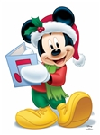 Star Cutouts Disney Christmas Mickey Mouse Singing (Christmas Carol) Star-Mini