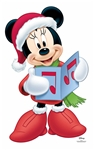 Star Cutouts Disney Christmas Minnie Mouse Choir (Christmas Carol) Star-Mini