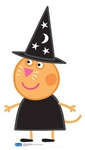 Star Cutouts Candy Cat (Peppa Pig Halloween)