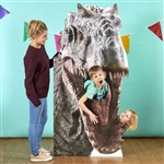 Lifesize Cut Out Jurassic World Dinosaur  Indominus Rex Dinosaur Stand In