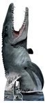 Lifesize Cut Out Official Jurassic World Mosasaurus Dinosaur