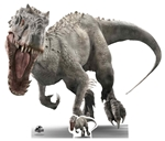 Lifesize Cut Out Official Jurassic World Indominus (Face on roar) Jurassic World Dinosaur