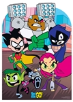 Star Cutouts Teen Titans Go Stand-In Cardboard Cutout