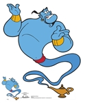 Star Cutouts Genie Aladdin (Classic) Robin Williams