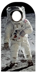 Star Cutouts Ltd SC1347 Buzz Aldrin Stand-In Large Cardboard Cutout Perfect for Space Fans, Parties and Moon Landing Celebrations Height 194cm