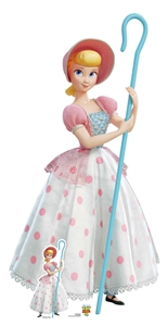 Star Cutouts Disney Official Bo Peep Classic Pink and White Polka Dot Dress Toy Story 4 Lifesize Cardboard Cutout