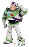 Star Cutouts Official Disney Buzz Lightyear Saluting Toy Story 4 Lifesize Cardboard Cutout