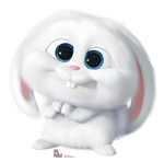 Star Cutouts Snowball the Rabbit Secret Life of Pets Cutout